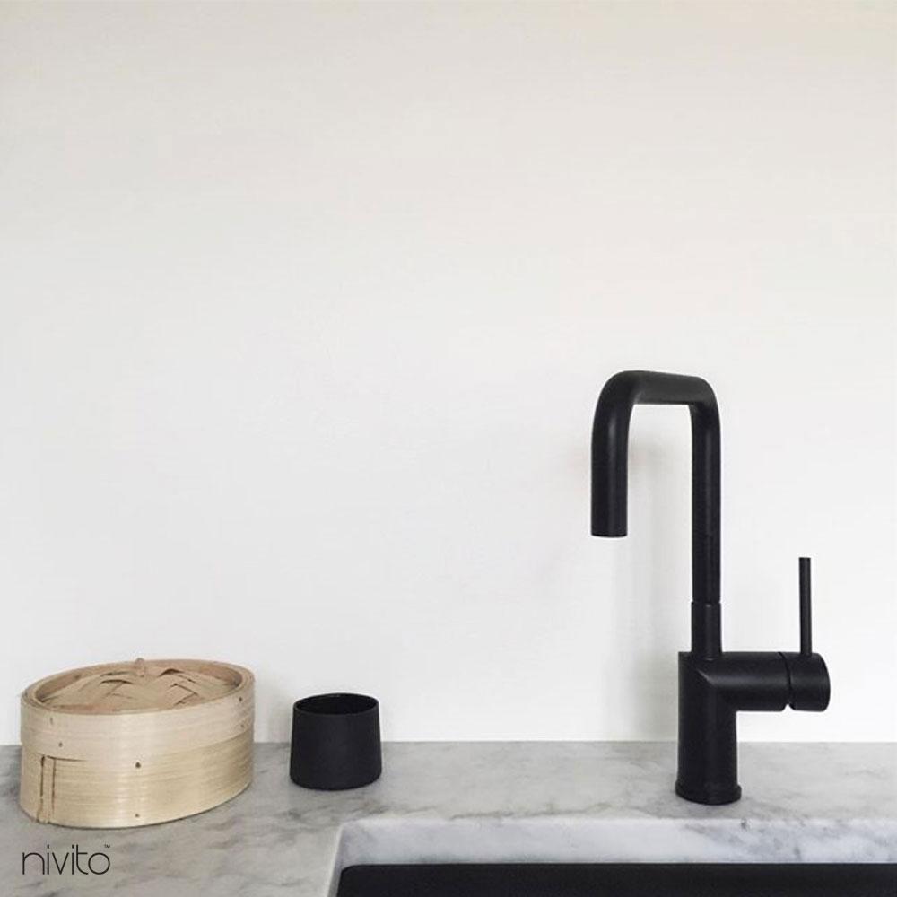 Black Mixer Tap - Nivito RH-320