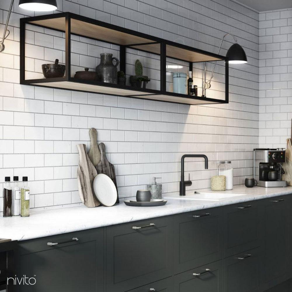 Black design tap