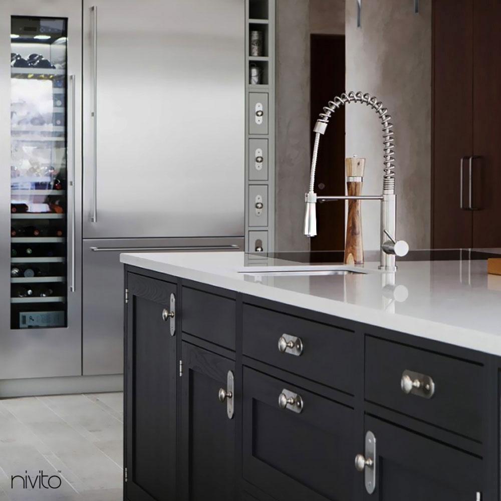 Kitchen Mixer Tap Pullout hose - Nivito EX-210