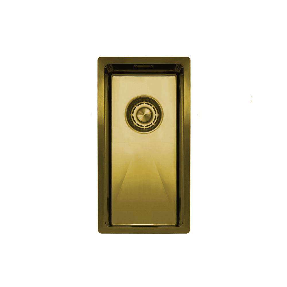 Brass/Gold Kitchen Basin - Nivito CU-180-BB