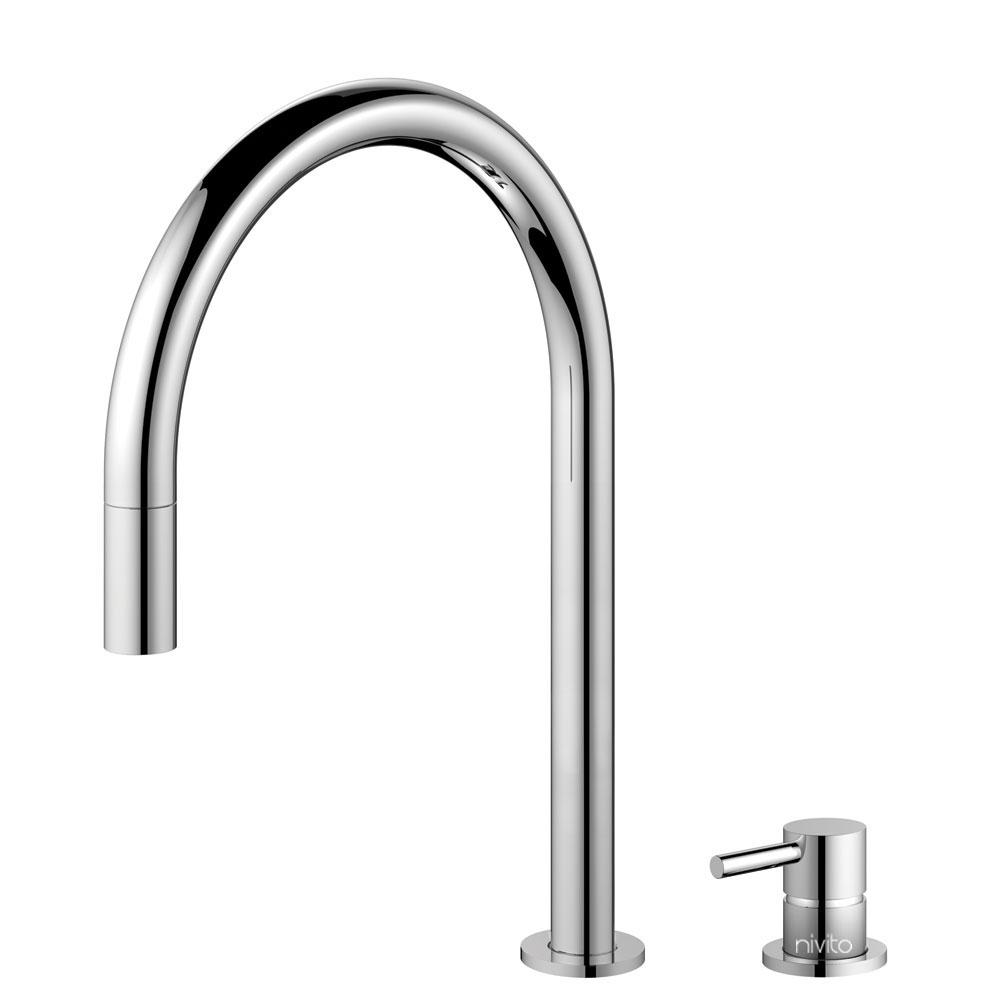 Kitchen Tap Pullout hose / Seperated Body/Pipe - Nivito RH-110-VI