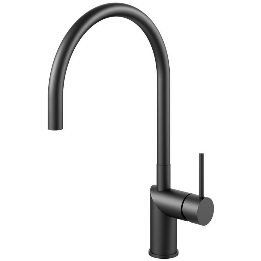 Black Kitchen Mixer Tap - Nivito RH-120