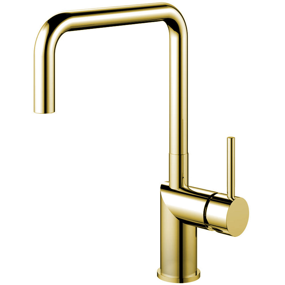 Brass/Gold Kitchen Sink Mixer Tap - Nivito RH-360