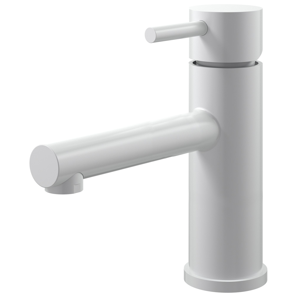 White Bathroom Tap - Nivito RH-53