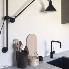 Kitchen tap black