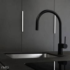 Stainless Steel Kitchen Sink - Nivito 2-CU-180-B
