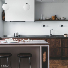 Kitchen Mixer Tap Pullout hose - Nivito 2-RH-310-EX