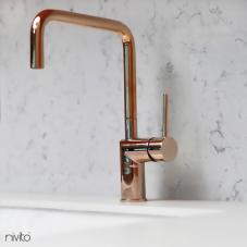 Copper Kitchen Mixer Tap - Nivito RH-370