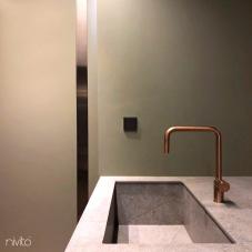 Copper Kitchen Mixer Tap - Nivito RH-350