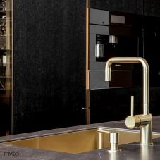 Brass/Gold Kitchen Sink - Nivito 4-CU-500-BB