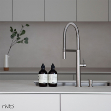Stainless Steel Kitchen Mixer Tap Pullout hose - Nivito 4-SH-100