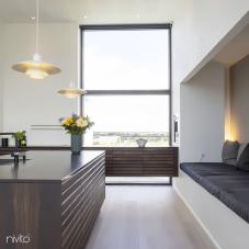 Black Kitchen Mixer Tap - Nivito 42-RH-320