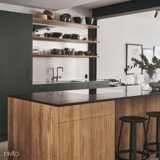 Stainless Steel Kitchen Mixer Tap - Nivito 6-RH-300