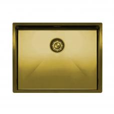 Brass/Gold Kitchen Sink - Nivito CU-550-BB