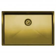 Brass/Gold Kitchen Sink - Nivito CU-700-BB