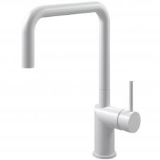White Kitchen Mixer Tap Pullout hose - Nivito RH-330-EX