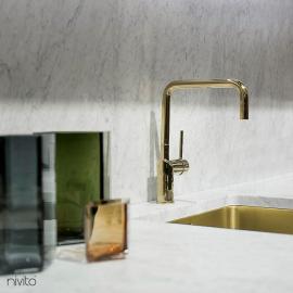 Gold brass tapware tap
