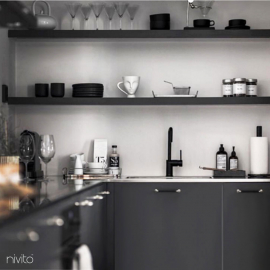 Black design tapware tap