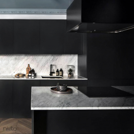 Black kitchen tapware tap