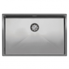 Stainless Steel Kitchen Basin - Nivito CU-700-B