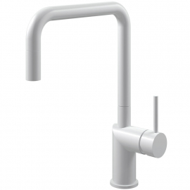 White Kitchen Tap Pullout hose - Nivito RH-330-EX