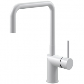 White Kitchen Tap - Nivito RH-330