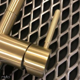 Gold brass tap