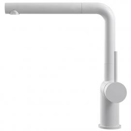 White Kitchen Tap Pullout hose - Nivito RH-630-EX